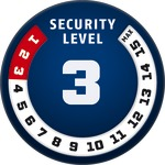 Level 3 | ABUS GLOBAL PROTECTION STANDARD ®  | Ein höherer Level entspricht mehr Sicherheit