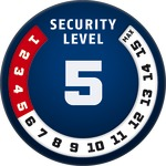 Level 5 | ABUS GLOBAL PROTECTION STANDARD ®  | Ein höherer Level entspricht mehr Sicherheit