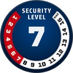 Level 7 | ABUS GLOBAL PROTECTION STANDARD ®  | Ein höherer Level entspricht mehr Sicherheit