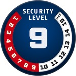 Level 9 | ABUS GLOBAL PROTECTION STANDARD ®  | Ein höherer Level entspricht mehr Sicherheit